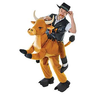 Bristol Novelty Unisex Adults Step In Bull Costume