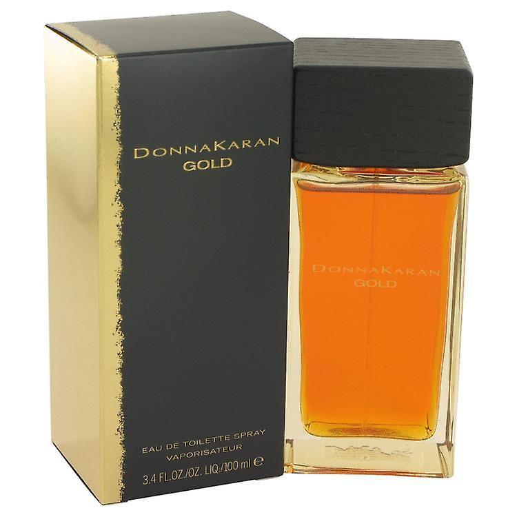 Donna Karan Gold Eau De Toilette Spray By Donna Karan 100 ml