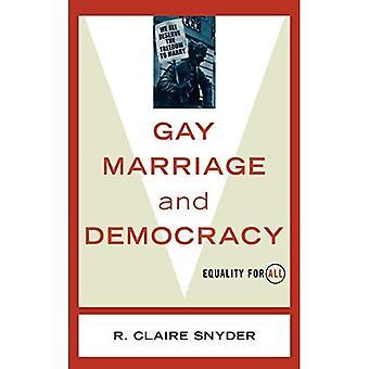 Mariage gay et démocratie : égalité pour tous (polémiques)