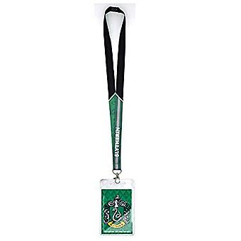 Lanyard - Harry Potter - Slytherin Crest w/Card Holder New 48474