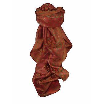 Mens Jamawar Premium Silk Scarf Pattern 5859by Pashmina & Silk