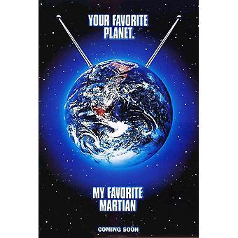 My Favorite Martian (1999) Original Cinema Poster (1999) Original Cinema Poster