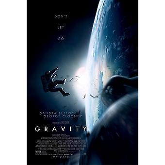 Gravity Poster Double Sided Regular (2013) Original Cinema Poster