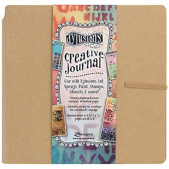 Dylusions Dyan Reaveley Creative Square Journal-8
