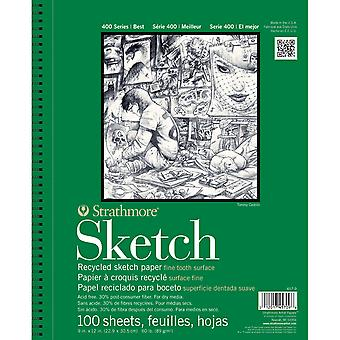 Strathmore Recycled Sketch Paper Pad 5.5
