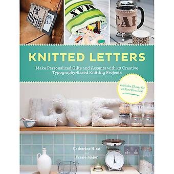 Chronicle Books Knitted Letters Ch 15726