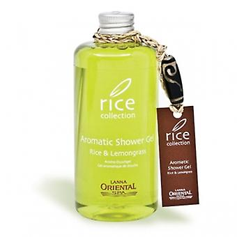 Lanna Oriental Spa rice collection aromatic shower gel 300 ml