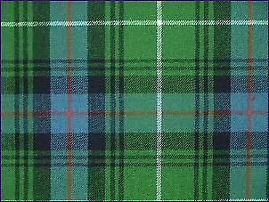 MacDonald of the Isles Hunting, Ancient - Pure Wool Tartan