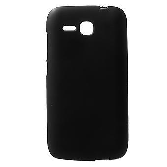 TPU gummidekselet kompis for Huawei bestige Y600 (svart)