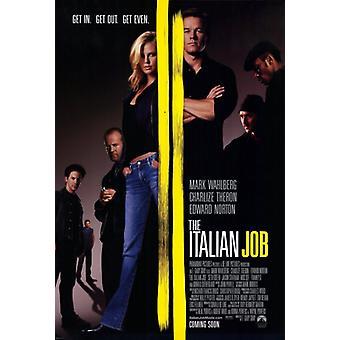 The Italian Job Movie Poster Print (27 x 40)