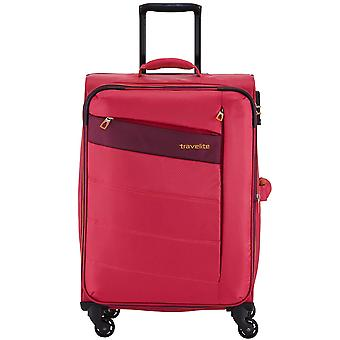 Travelite kite 4-roller soft luggage trolley suitcase 75 cm