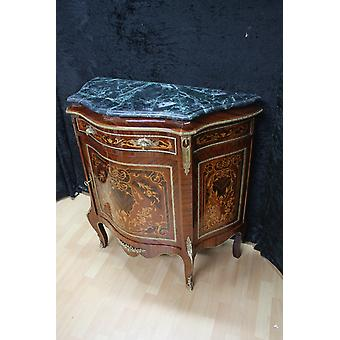 Buffet baroque style antique poitrine marbre antique style baroque Louis xv MkBa0063Gn