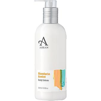 Arran Sense of Scotland Formulas Mandarin & Mint Body Lotion