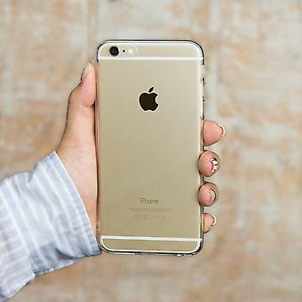 Apple iPhone 6 6S Plus Transparent Matching Phone Cover (Moon & Back Left)