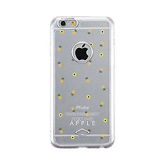 Apple iPhone 6 6 s Transparent Matching Phone Cover (Ananas-Muster - Apple)