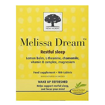 New Nordic, Melissa Dream, 100 tablets