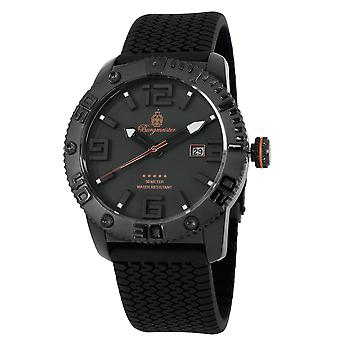 Burgmeister BLACK! Gents  Watch BM522-622B