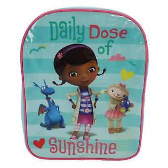 Officially Licensed | DISNEY | Doc McStuffin's | Sunny Days | Backpack School Bag