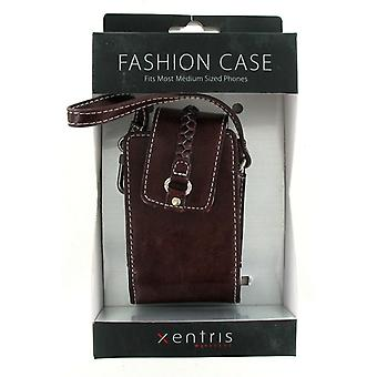 Xentris Universal Fashion Case for Medium Sized Phones (34-1879-01-WM) - Chocola