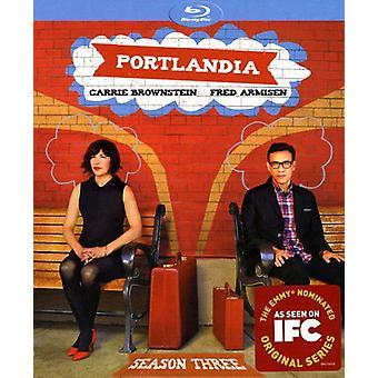 Portlandia: Sæson 3 [BLU-RAY] USA importerer
