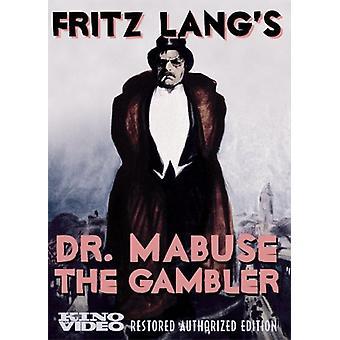 Dr. Mabuse de gokker [DVD] USA importeren