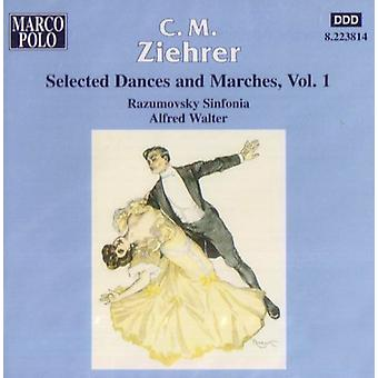 C.M. Ziehrer - C.M. Ziehrer: Selected Dances and Marches, Vol. 1 [CD] USA import