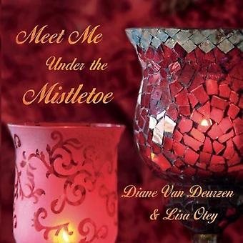 Van Deurzen, Diane & Lisa Oteya - import USA Poznaj mnie pod jemiołą [CD]