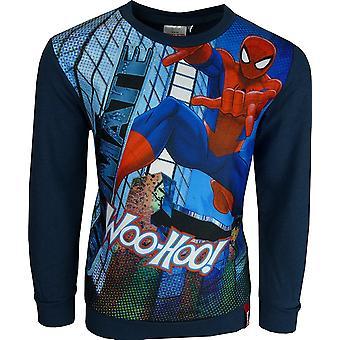Marvel Spiderman Boys Crewneck Sweatshirt / Jumper