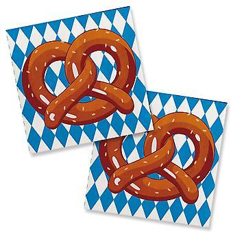 Oktoberfest servetter 20 st Oktoberfest dekorationer part öl Festival oktober fest