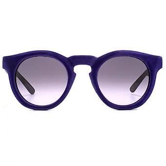 Italia Independent 0922 Velvet Sunglasses In Violet