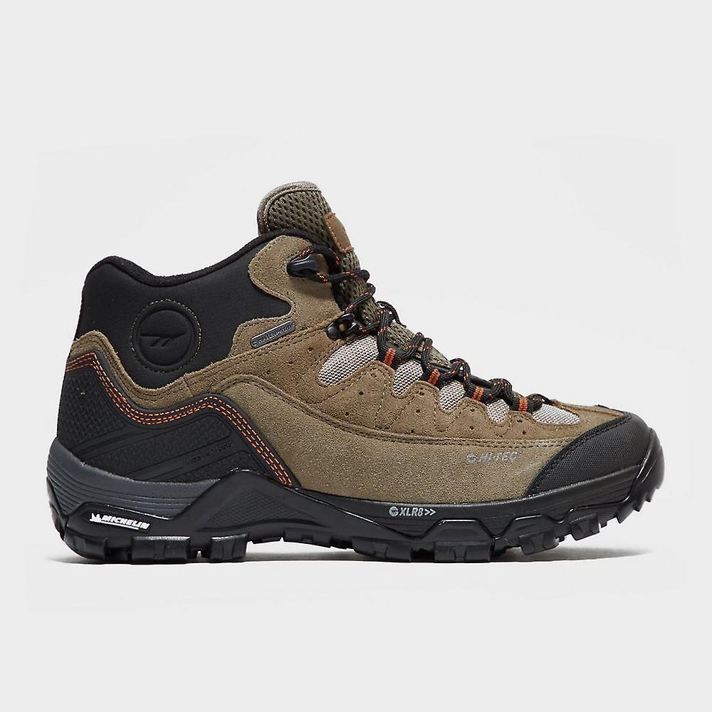 Brown Hi-Tec Mid Men's OX Belmont Mid Hi-Tec I Walking Shoe a88fc2