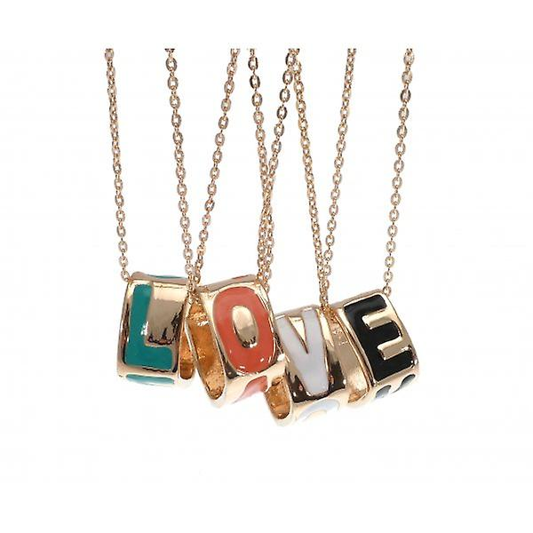 W.A.T Gold Style 'LOVE' Necklace
