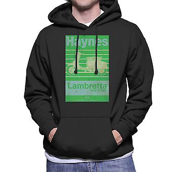 Haynes Owners Workshop Manual Lambretta 47 To 72 Distressed Men's Hooded Sweatshirt