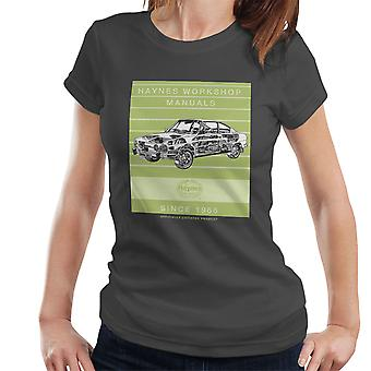 Haynes Workshop handmatige 0303 Skoda 110R Stripe Women's T-Shirt