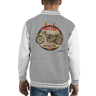 Haynes Brand Richfield BSA Motor Oil Kid's Varsity Jacket
