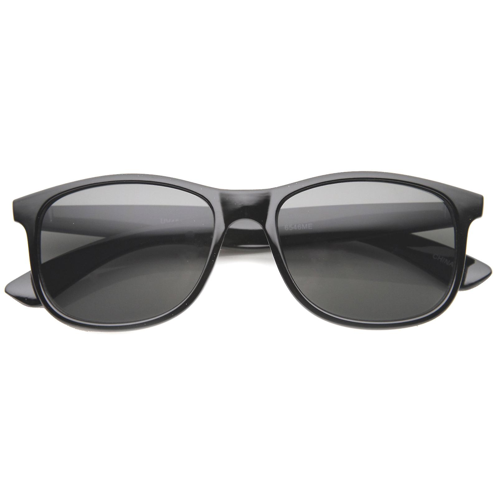 Womens Horn Rimmed Sunglasses With UV400 Protected Composite Lens
