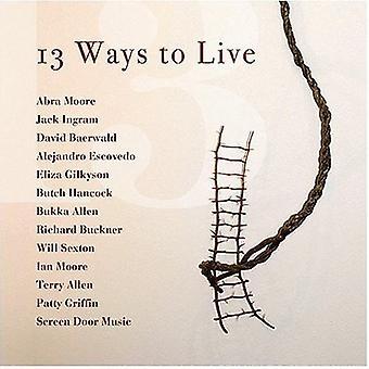 13 formas para vivir - 13 formas de importación en los E.e.u.u. [CD]