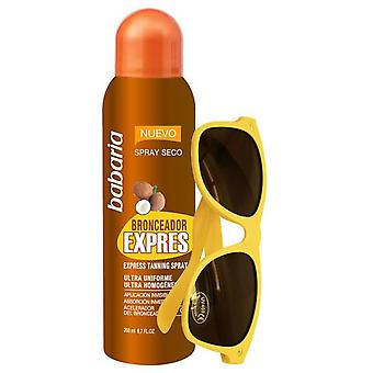 Babaria Sun Self-Tanning Spray + Glasses