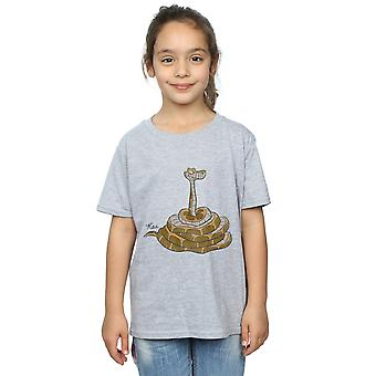 Disney Girls The Jungle Book Classic Kaa T-Shirt