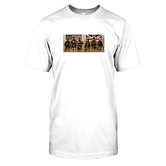 Mens t-shirt DTG Print - US and UK Special Forces SAS and Delta -