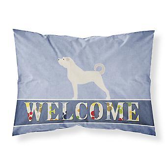 Anatolian Shepherd Welcome Fabric Standard Pillowcase