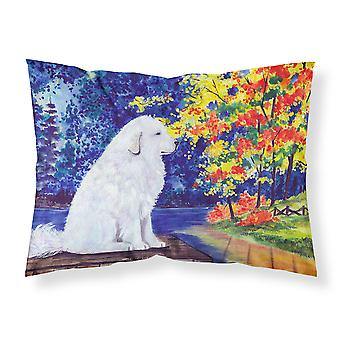 Carolines Treasures  SS8240PILLOWCASE Great Pyrenees Moisture wicking Fabric sta