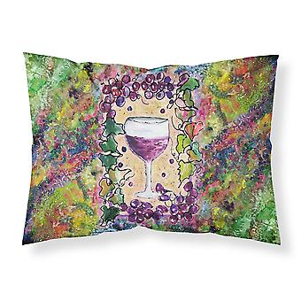 Carolines Treasures  8616PILLOWCASE Wine  Moisture wicking Fabric standard pillo