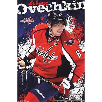 Washington Capitals - en Ovechkin 13 affisch affisch Skriv