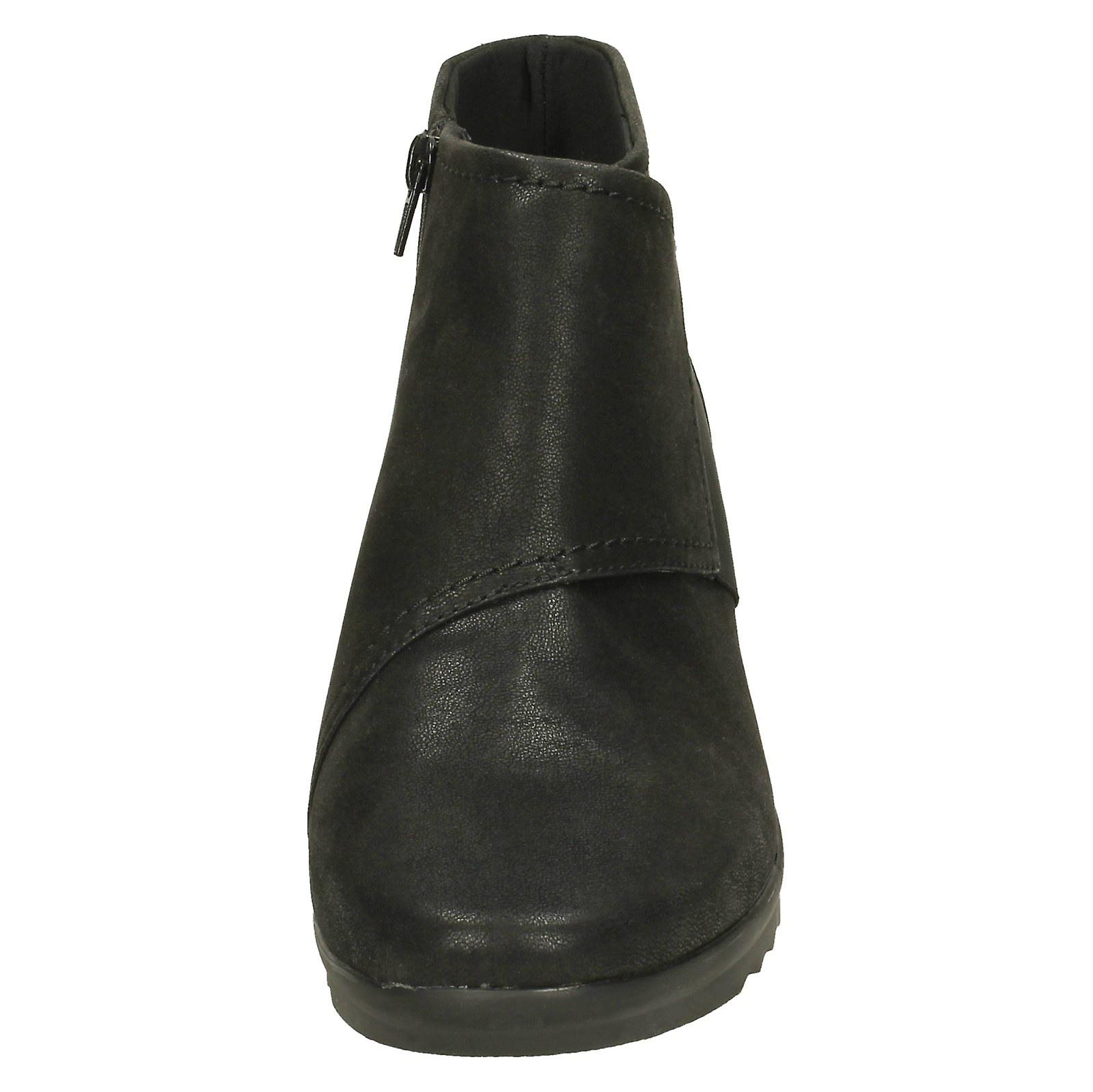 Boots Ankle Caddell Ladies Clarks Rush 4aq1wEOY