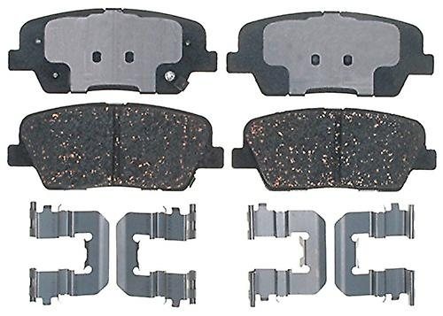 ACDelco 17D1284CH Professional Ceramic Rear Disc Brake Pad Set