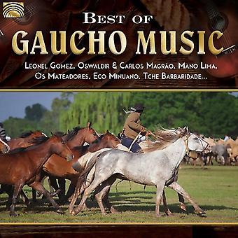Gomez, Leonel / Magrao, Oswaldir & Carlos / Lima, Mano - Best of Gaucho Music [CD] USA import