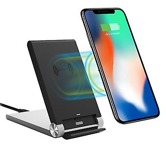 4smarts inductive quick charger VoltBeam charger 10W Qi NFC wireless charger dock black