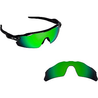 Best SEEK Polarized Replacement Lenses for Oakley RADAR EV PITCH Green Mirror