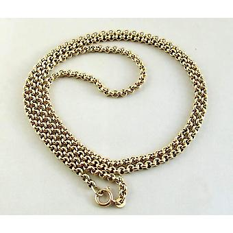 Yellow Gold jasseron necklace